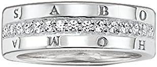 Thomas Sabo anillos Mujer plata 9 k (375) circón