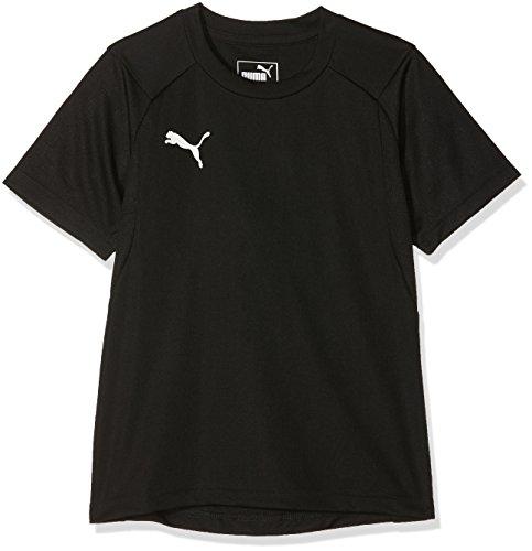 Puma Kinder Liga Training Jr Jersey, Black White, 116 (Fußball Jersey Liga)