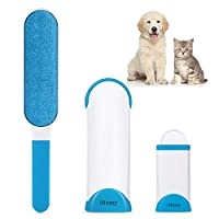 Lint Brush-Pet Hair Remover Brush-Dog & Cat Fur Remover with Self-Cleaning Base-Double Sided Animal Hair Removal Tool-Perfect for Clothing, Furniture, Couch, CarPet, Car Seat