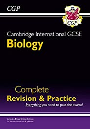 New Cambridge International GCSE Biology Complete Revision & Practice: Core & Extended + O