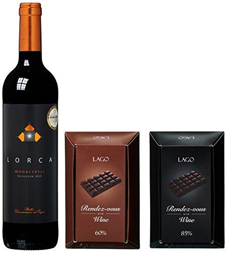 Schokolade,Wein,Geschenkset