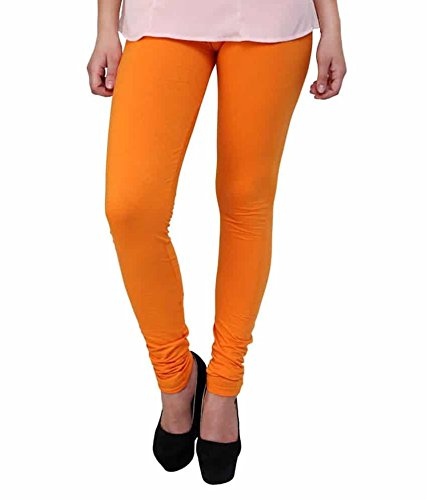 DESTINY STAR GARMENTS WOMEN COTTON LEGGING_DARK ORANGE_SP013