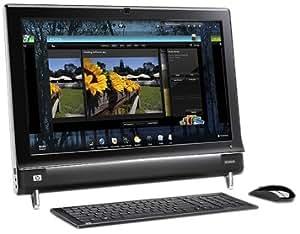 "HP Touchsmart 600-1030FR Ordinateur de bureau Ecran 23"" Intel Core 2 Duo T6400 Windows 7 Premium RAM 4 Go HDD 500 Go"