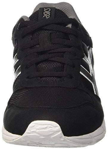 Asics Shaw Runner, Chaussures de Sport Mixte Adulte Noir (Black/Grey)