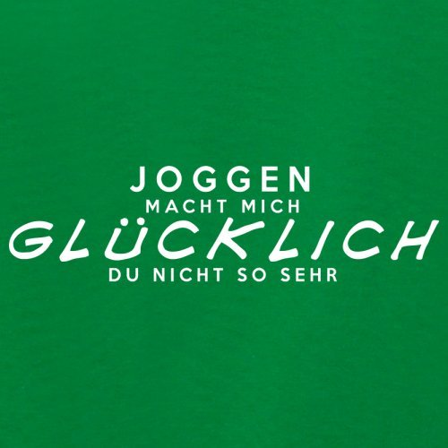 Joggen macht mich glücklich - Unisex Pullover/Sweatshirt - 8 Farben Grün