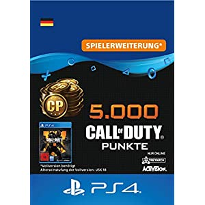 5.000 Call of Duty : Black Ops 4-Punkte – 5000 Points DLC | PS4/PS3 Download Code – deutsches Konto