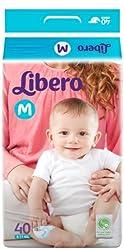 Libero Medium Size Diapers (40 Counts)
