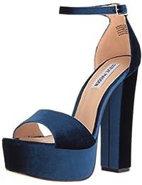 Steve Madden Gonzo-v, Zapatos de Tacón con Punta Abierta para Mujer