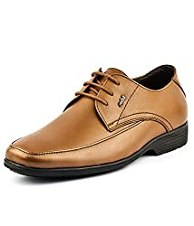 Lee Cooper Mens Tan Formal Shoes EU-40