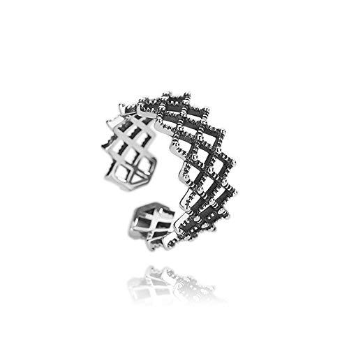DOLOVE Herren Damen Unisex Kinder - 925 Sterlingsilber Sterling-Silber 925 Keine - Ring Leader Kostüm