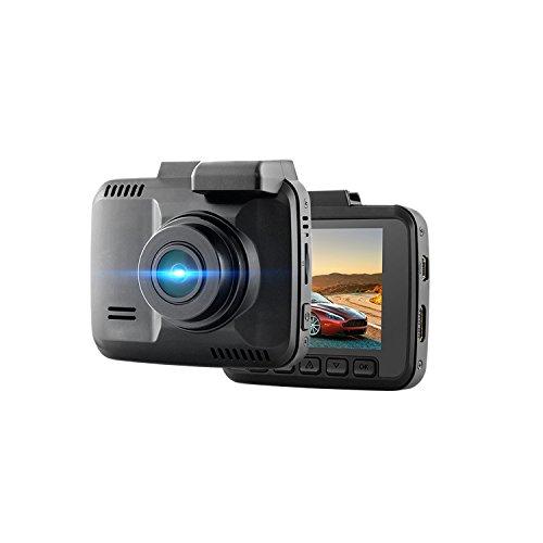 YXZN HD Nachtsicht Fahren Recorder Eingebaut GPS-Track WiFi Versteckte Recorder,Black