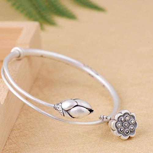 XYQ Armband Mode Thai Silber Pullup Dusche Armband Mode Öffnen Silberschmuck Modeaccessoires, Silber, EIN