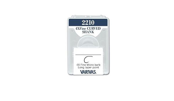 Varivas 2210 Leicht Gebogen Schaft Haken 30 Haken pro Packung Super Qualität