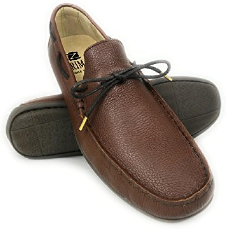 Zerimar Leder Bootsschuhe für Herren | Nautische Herren Sommer | Nautische Schuhe Mann | Mokassins Mann | GROßE