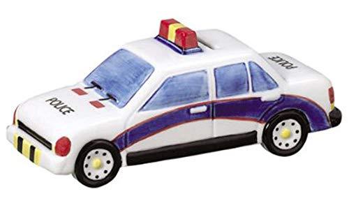 Cerámica Policía coche banco de monedas
