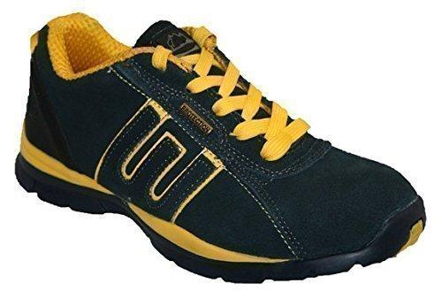 Groundwork GR86 S, Chaussures de sécurité mixte adulte Marine Jaune