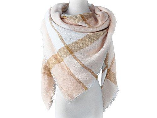 La Loria - Echarpe - Femme Multicolore - Grau-Rosé-Weiß
