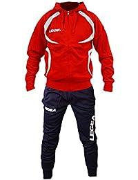4985eda316 Perseo Sport Tuta Legea Tunisia T110 Uomo Allenamento Fitness Calcio Tempo  Libero Vari Colori e TG