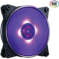 Cooler Master MasterFan Pro 120 Air Balance AB RGB Ventilateurs de boîtier 'RGB LED, 650 - 1300 +/-10% RPM, 120mm' MFY-B2DN-13NPC-R1
