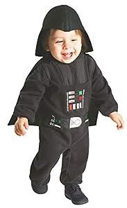 Star Wars - Disfraz de Darth Vader para niños, infantil 1-2 años (Rubie