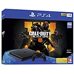 PlayStation 4 (PS4) - Consola de 1 TB + Call Of Duty Black Ops IV + FIFA 19 Edición Estándar