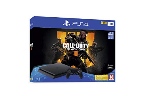 PlayStation 4 (PS4) - Consola de 1 TB + Call Of Duty Black Ops IV