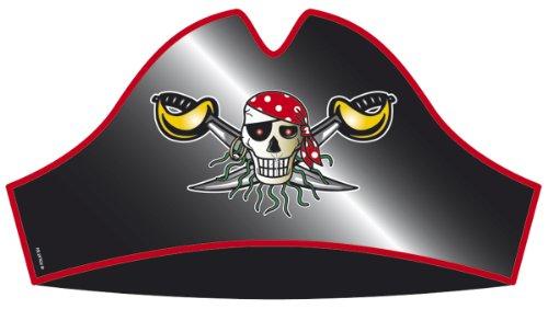 Hüte, Piraten Party 8 Stück (Halloween Partyartikel Zu Machen)