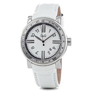 D&G Dolce&Gabbana DW0680 – Reloj de Cuarzo para Hombres, Color Blanco