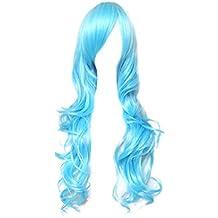 Dream2reality Cosplay_Macross_Sheryl Nome_curly_80cm_ice blue_kanekalon