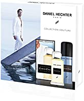 DANIEL HECHTER Coffret Homme Coton Chic Ecrin Prestige Eau de Toilette 100 ml, Déodorant 150 ml