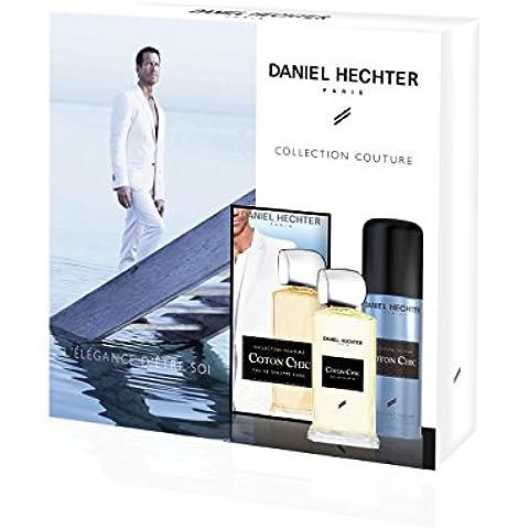 DANIEL HECHTER Chic Jewel Box algodón de lujo Eau de Toilette 100ml, 150ml Desodorante