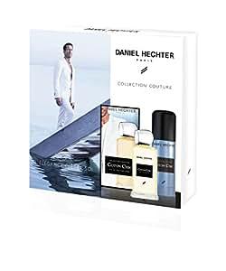 DANIEL HECHTER Coffret Homme Coton Chic Collection Couture , Eau De Toilette 100 ml + Déodorant 150 ml