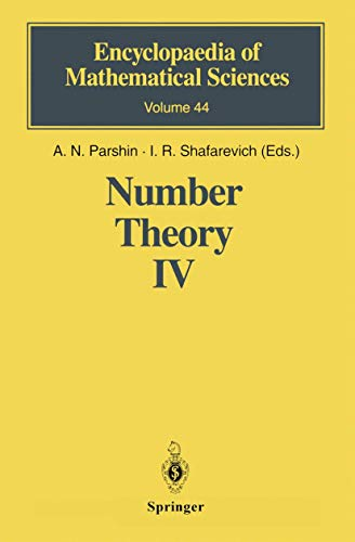 Number Theory IV: Transcendental Numbers (Encyclopaedia of Mathematical Sciences, Band 44)