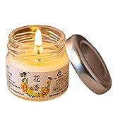 Ysuing Bougie parfumées Yankee Candle Cire de Bouteille aromathérapie Floral sans fumée Anniversaire Bougie-déodorant diamètre 4.0cm* Hauteur 4,5 cm