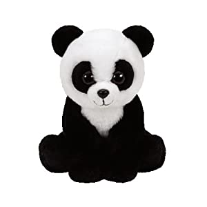TY - Beanie Babies Baboo, peluche panda, 23 cm (United Labels Ibérica 96305TY)