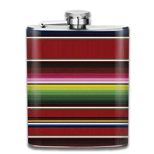 Rundafuwu Flask for Liquor7 Oz Stainless Steel Flask Cinco De Mayo Printed Stainless Steel Hip Flask...