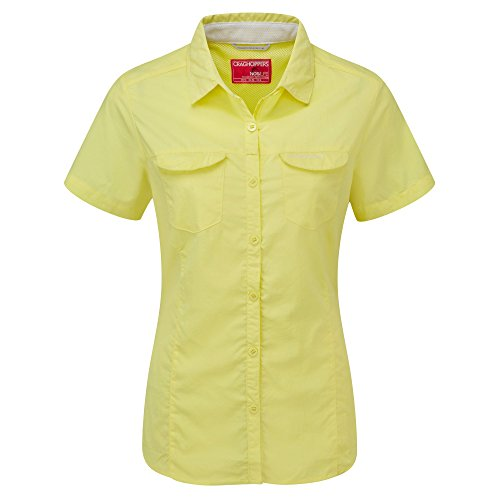 41fu%2Bhww1rL. SS500  - Craghoppers Womens/Ladies NosiLife Adventure Short Sleeve Insect Repellent Shirt