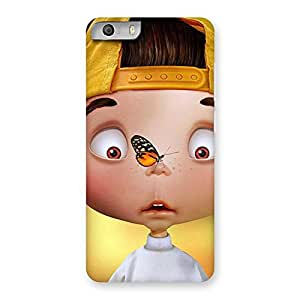 Impressive Confused Funny Boy Back Case Cover for Micromax Canvas Knight 2