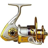 lokep 12BB cuscinetto a sfera in metallo ad alta velocità pesca mare mulinello da spinning reel sinistra/destra intercambiabile Attrezzatura da pesca attrezzi da pesca, EF5000 - Ice Attrezzi Da Pesca