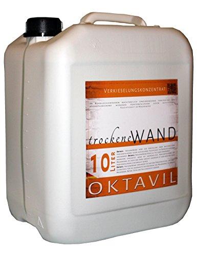Oktavil Trockene Wand - Horizontalsperre Verkieselungskonzentrat - 10 Liter - Made in Germany