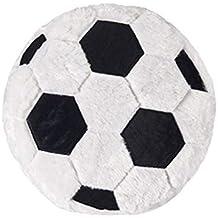 Augneveres - Almohada de Felpa con Forma de balón de Baloncesto y Rugby f1c18907882c1
