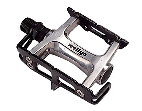 Wellgo PedalsR110 -Pedali Strada,  Alluminio/Nero, 1 unita