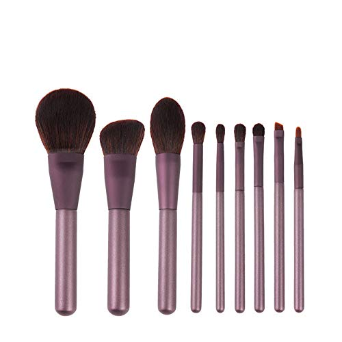 JUZEN Lila Make-Up Pinsel Set Augenbraue Pinsel High Light Loose Powder Blush Foundation Nasal...