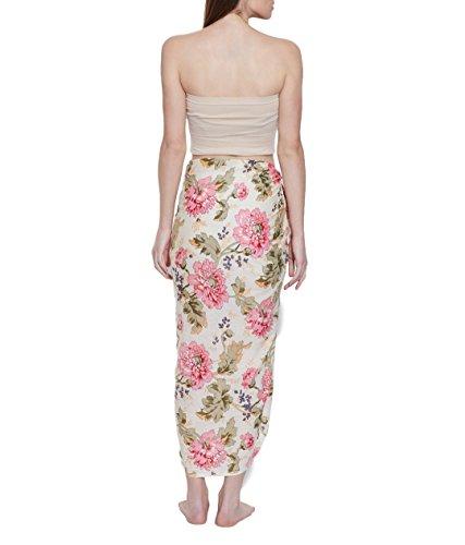 Wrap Vertuschungen Sarong Baumwolle Voiles Light Weight Für Frauen Kleider  aus Indien Mehrfarbig 8
