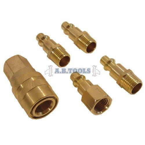 set-di-5-accoppiatori-rapidi-in-ottone-aria-per-tubo-flessibile