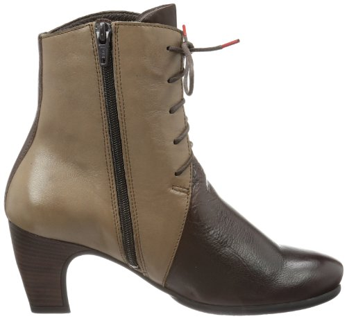Think Nei 81468 Damen Desert Boots Braun (espresso/kombi 42)