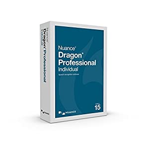 Dragon Professional Individual 15.0, English Speech Recognition Software (ESD) NO HEADSET