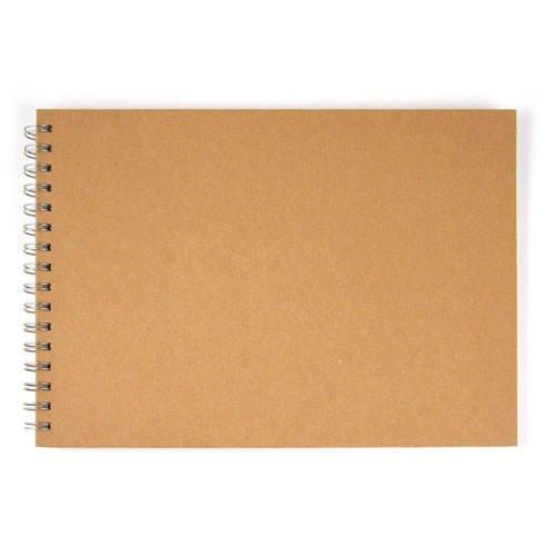 Spiralalbum quer, natur, DIN A4, 30 Blatt, 190g/qm [Spielzeug]