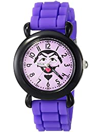 eWatchFactory Girl's 'Sesame Street' Quartz Plastic and Silicone Casual Watch, Color:Purple (Model: WSS000031)
