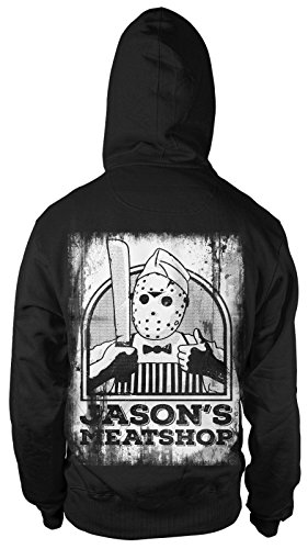 Jason Meat Shop Kapu Klassiker Kult Freitag Film 13. Movie Horror Halloween Lake (Pennywise Hoodie)